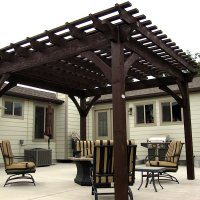Full Size Timber Pergolas