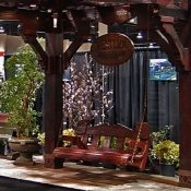 Asian Pergola Swing