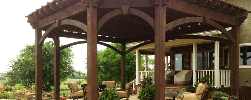 America's Premier Timber Framing Company. Pergola Kits, Gazebos ...