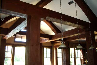 Custom timber frame