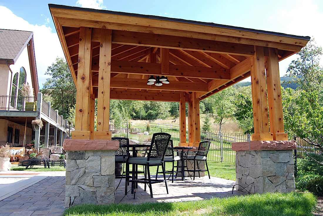plan for an easy 16 39 x 20 39 diy solid wood pergola or. Black Bedroom Furniture Sets. Home Design Ideas
