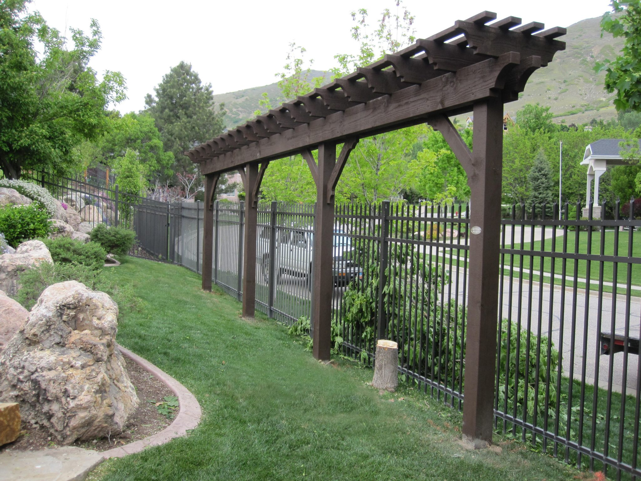 Durable Diy Timber Frame Arbor Kit Installs So Fast Amp Easy