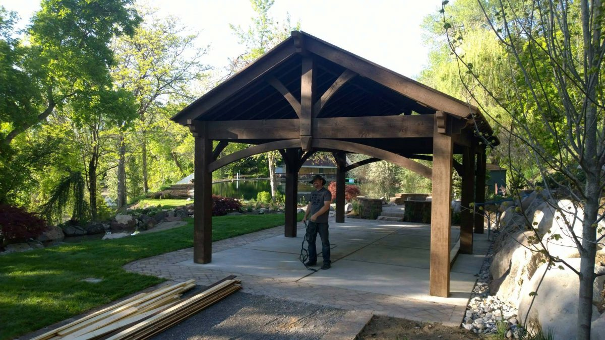 timber frame arbor pergola pavilion gazebo kit what to expect western timber frame