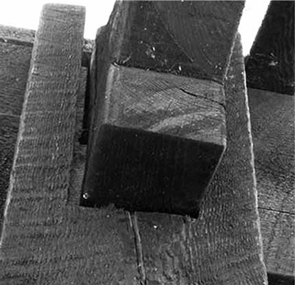 conventional dovetail timber cracking