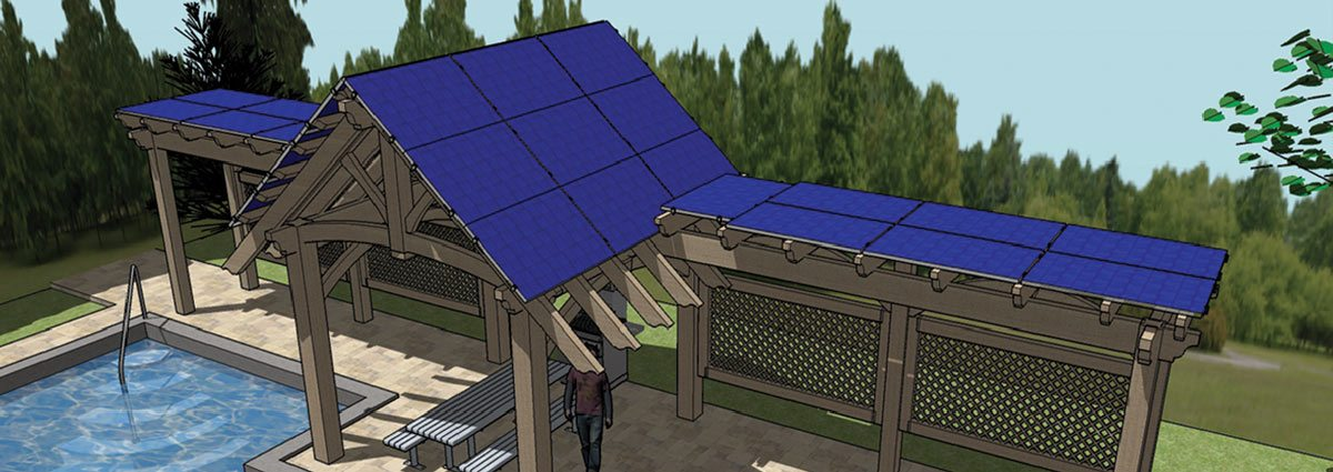 Solar Power Site Solutions Western Timber Frame