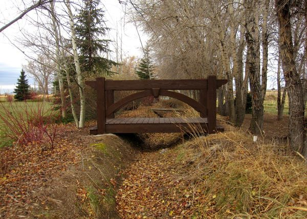 Backyard living accessories add ons western timber frame for Timber frame bridge