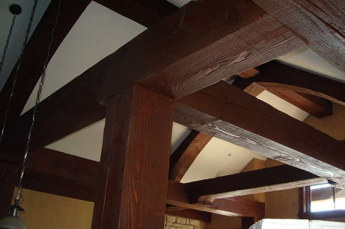 timber frmae trusses