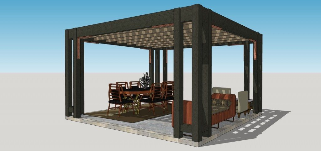 Vote For Your Favorite Contemporary Pergola Lattice Style