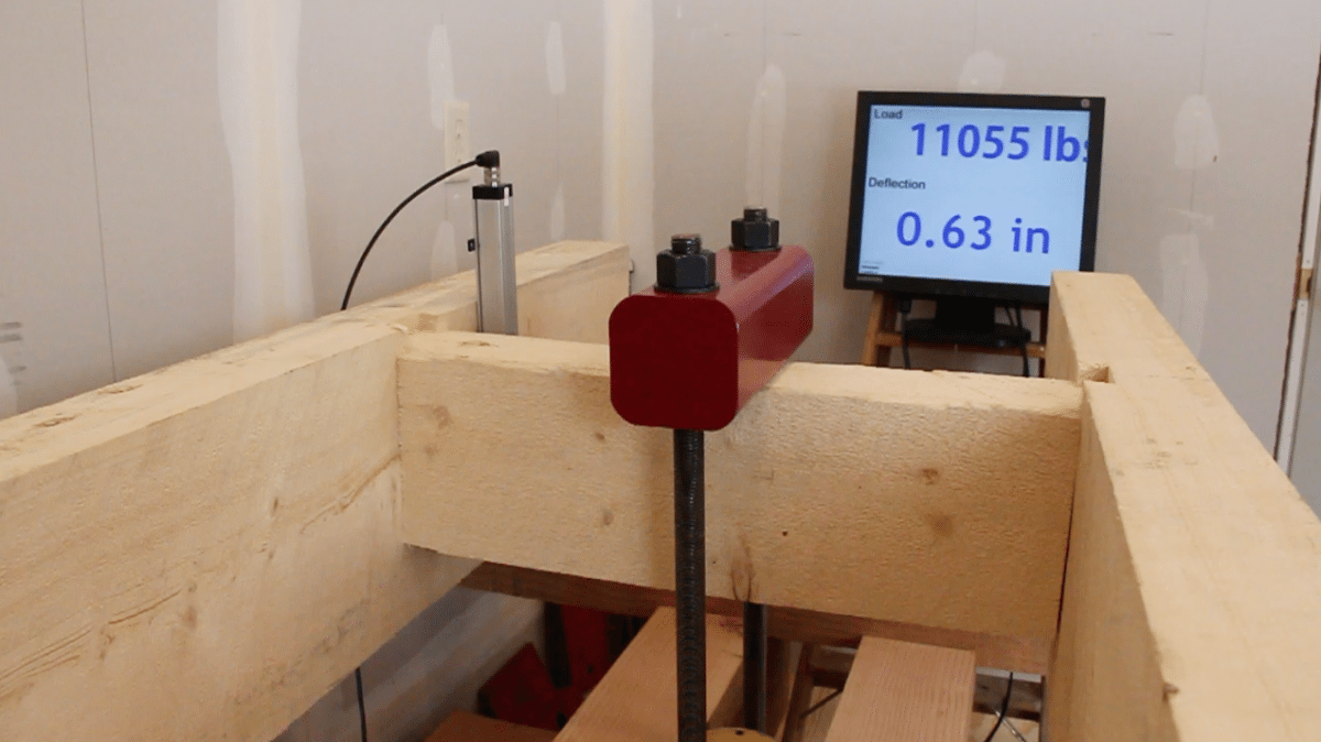 pressure test dovetail difference joint