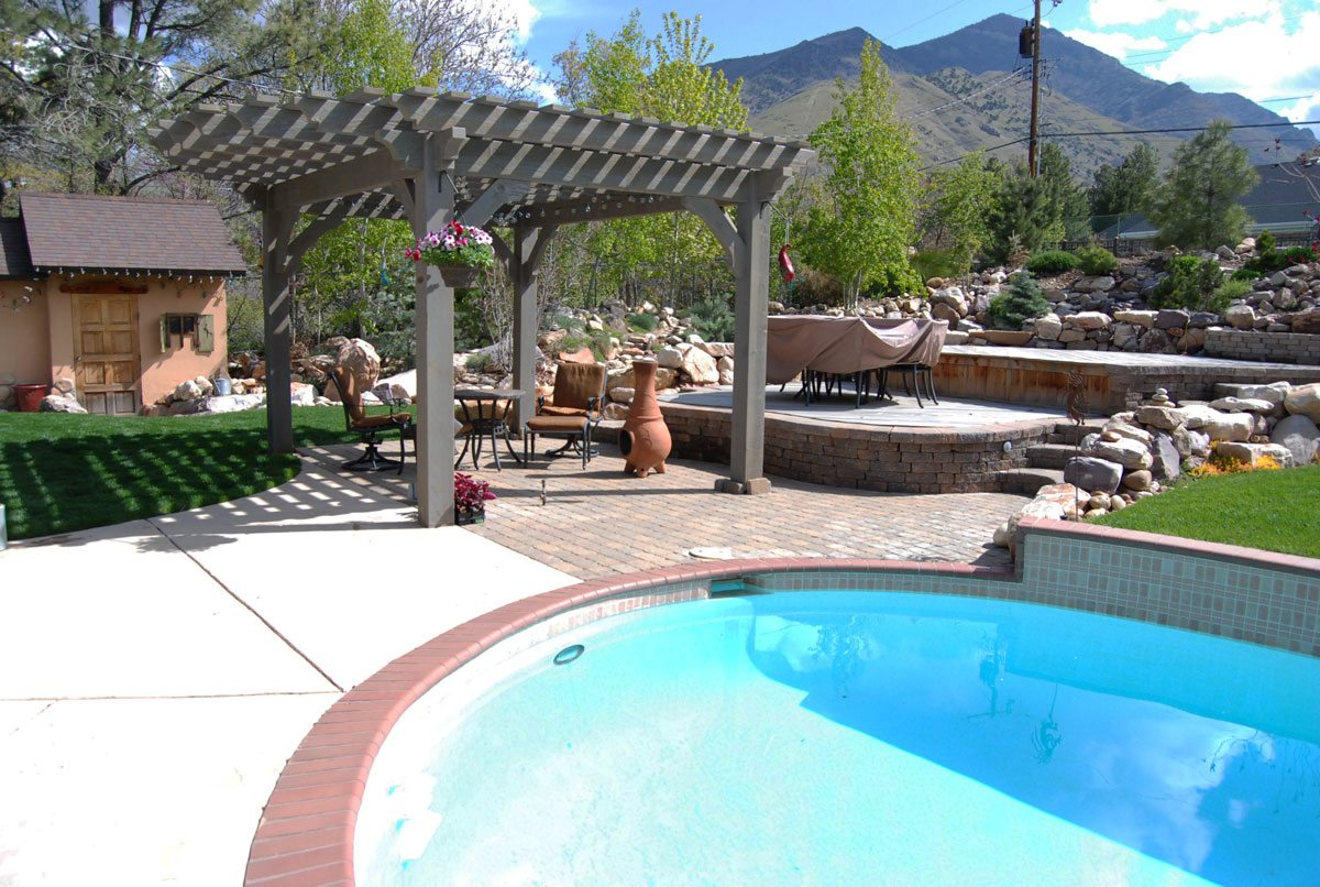 pergola und pool pictures - photo #19