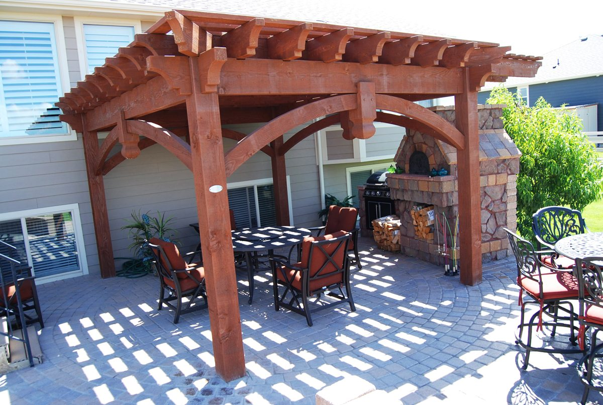 28 outdoor grilling area w pergola photos hgtv grill center with cedar pergola 10 amazing. Black Bedroom Furniture Sets. Home Design Ideas