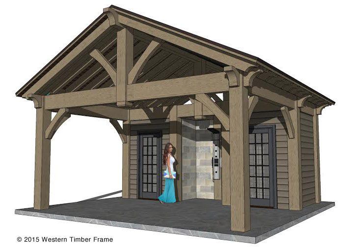 Planning for a 12 39 x 20 39 timber frame over sized diy for Diy timber frame plans