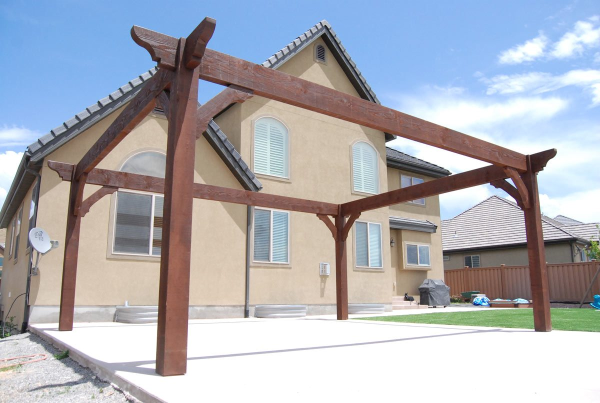 12 pergola roofing design ideas western timber frame