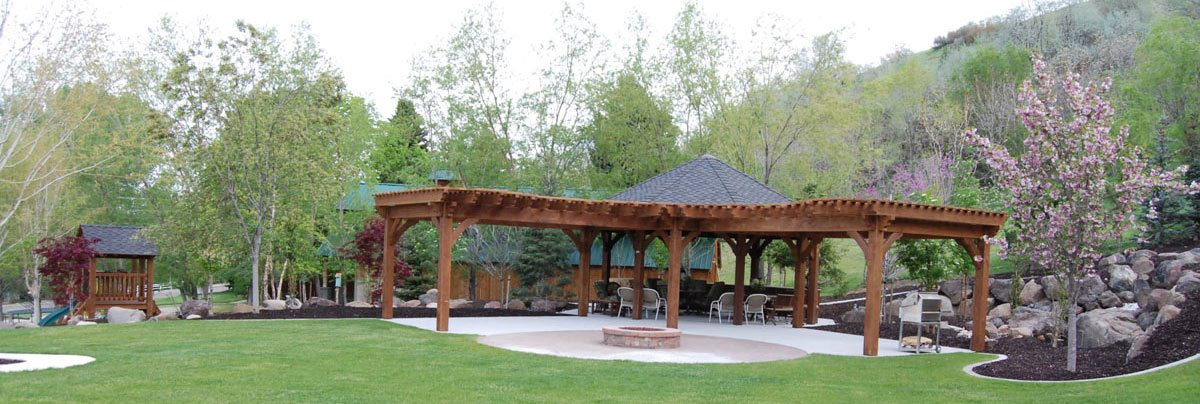 pergolas gazebo swings