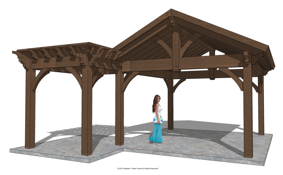 Home Show Inspiration Install Custom Gazebo Pavilion Plan