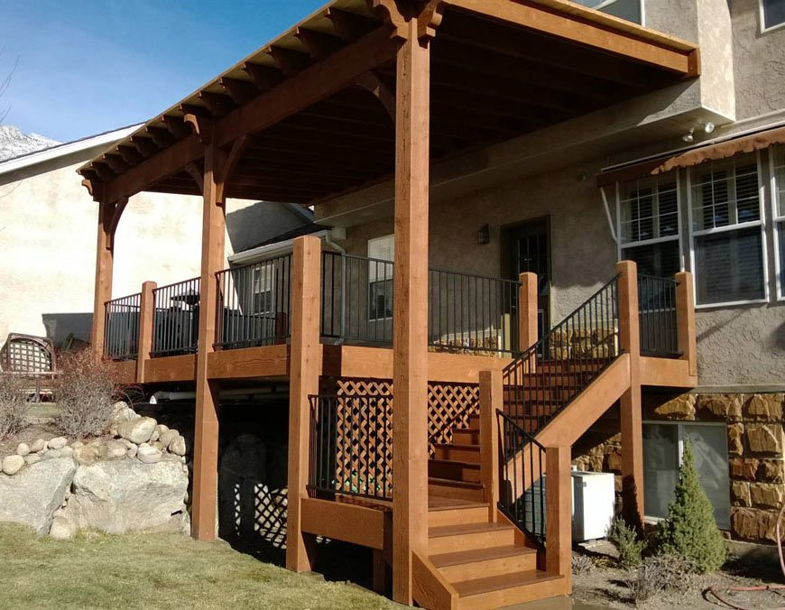 porch deck pavilion attached