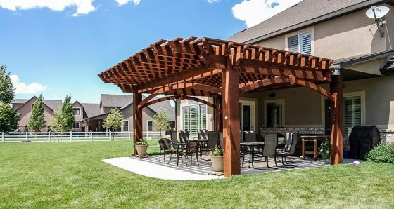 Pergola 10,000 Series ShadeScape® by Western Timber Frame