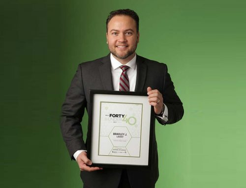 Bradley Lavery Forty Under 40 Honoree