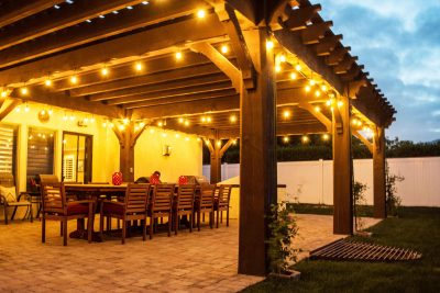 timbervolt power pergola