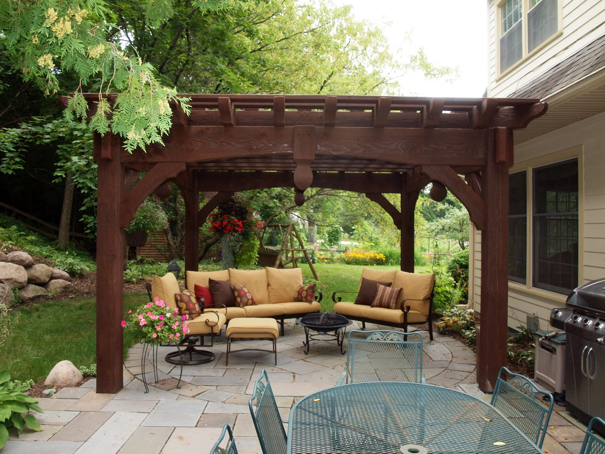 Pergola Backyard Designs : Timber Framing Products we offer  Western Timber Frame