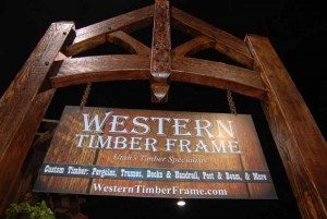 Entry Timber Truss - Utah Home Show