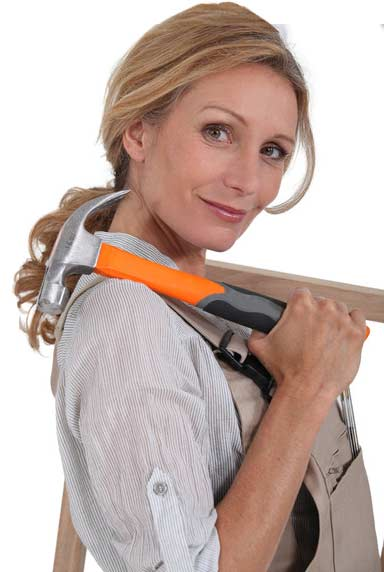 Woman-With-Tools
