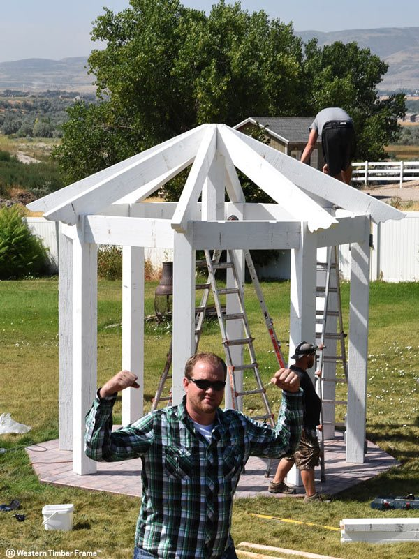 shadscape gazebo installation