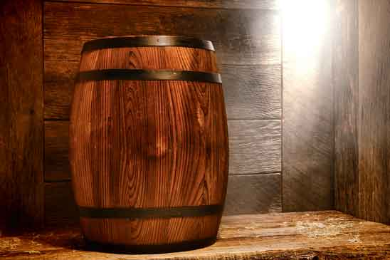 timber wooden barrel