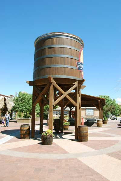barrel-village