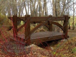 solid wood bridge