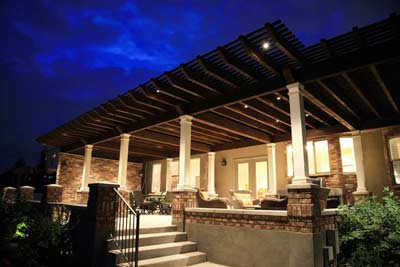 Design Amp Remodel Timber Frame Attached Pergola Patio Porch