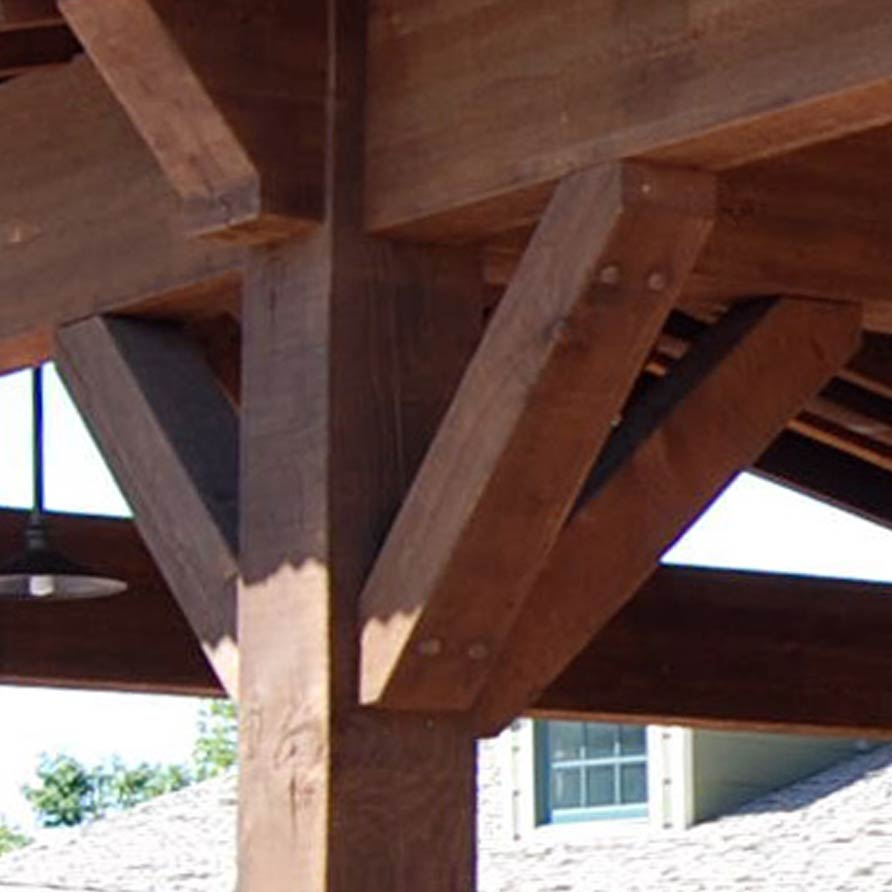 Construction Glossary Timber Frame Arbor Pavilion