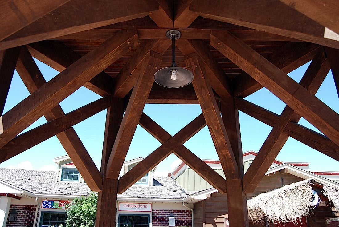 Roof Designs For Outdoor Living Timber Frame Shade