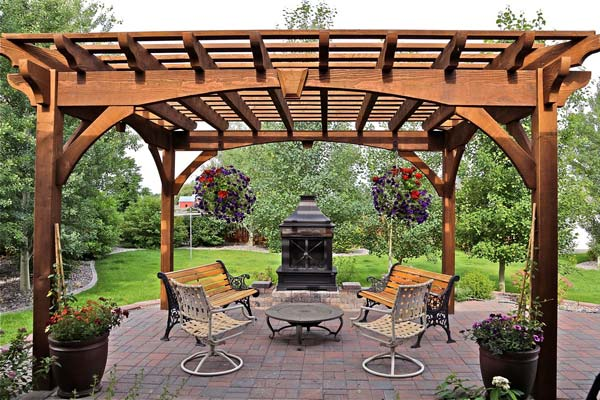 55 Best Backyard Retreats With Fire Pits Chimineas Fire Pots Fire Bowls Western Timber Frame