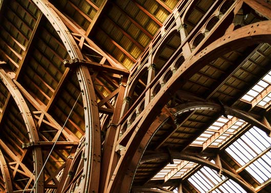 wooden-roof-construction