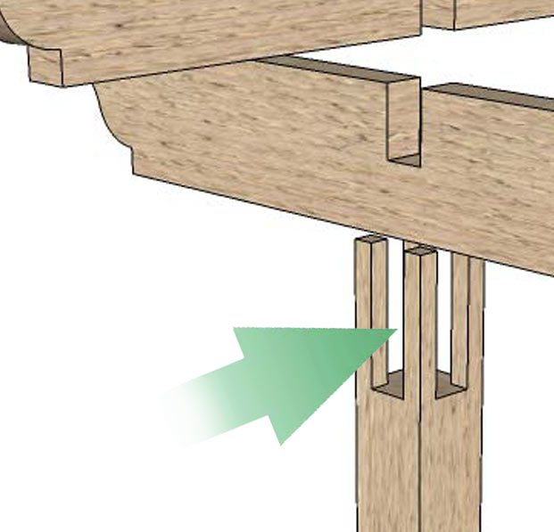 Durable DIY Timber Frame Arbor Kit Installs So Fast & Easy ...
