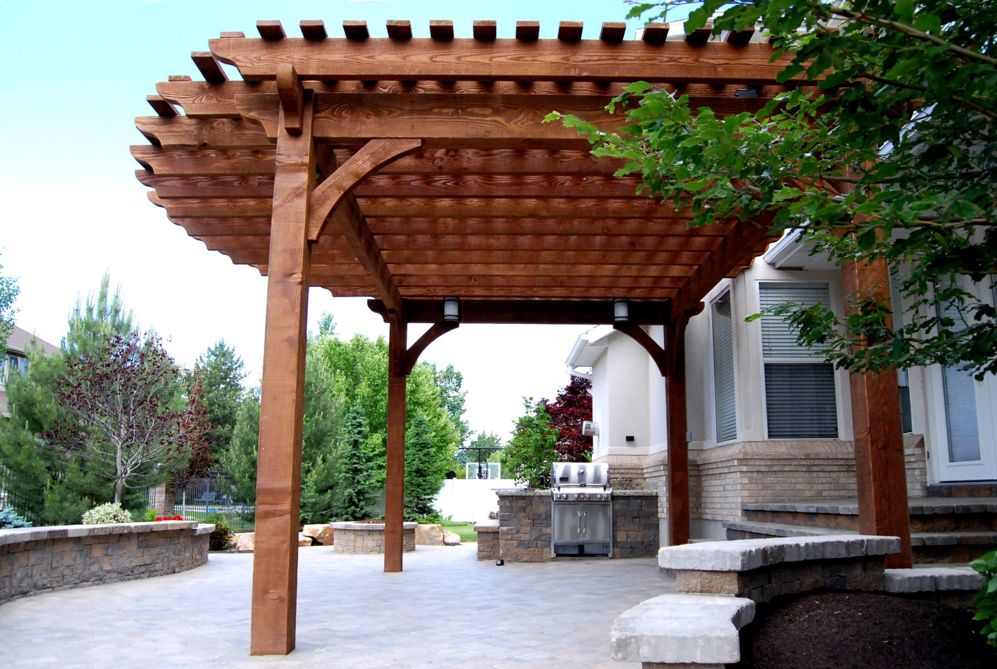 roof designs for outdoor living timber frame shade creations