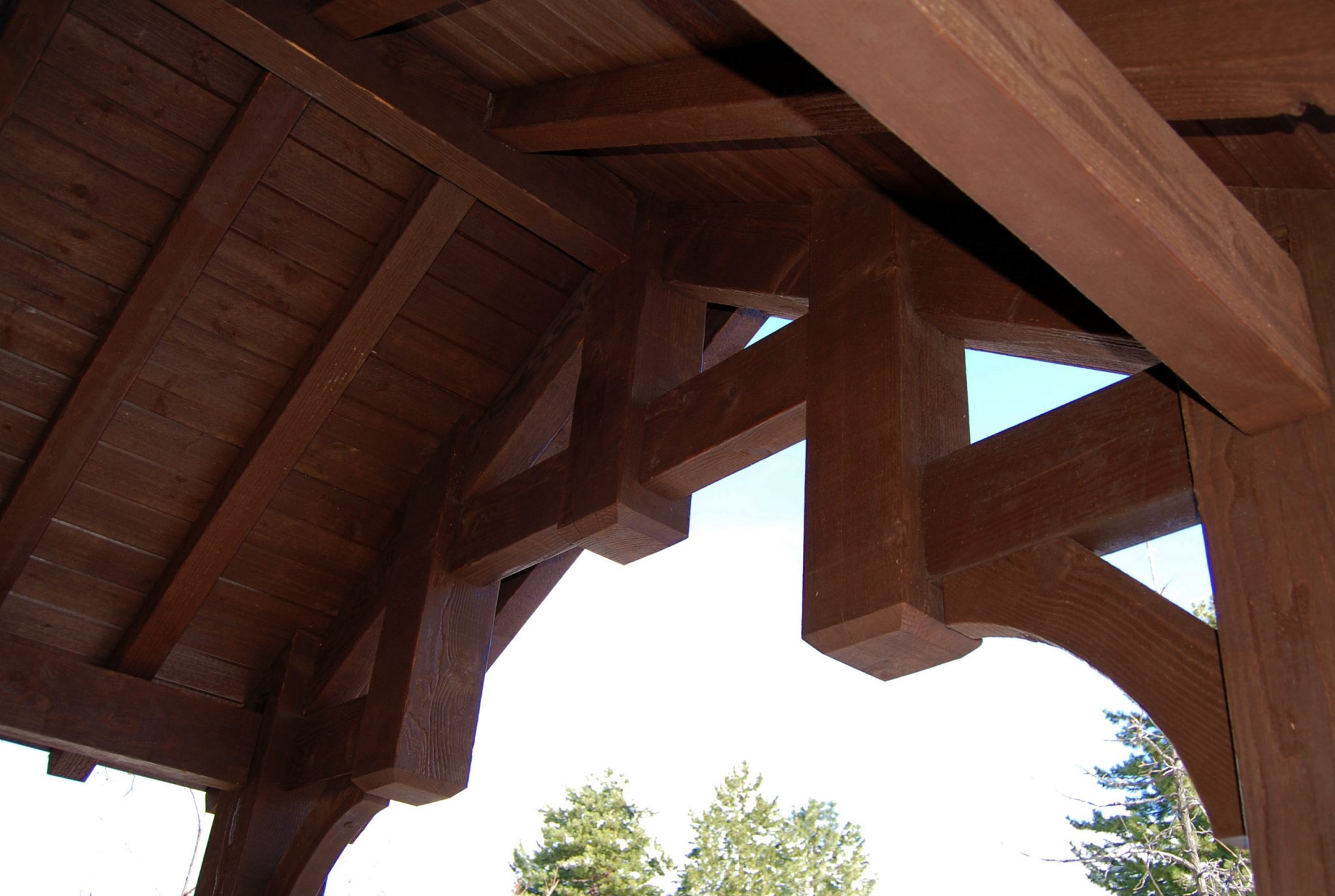 timber frame pergola or pavilion kit expanding your outdoor living