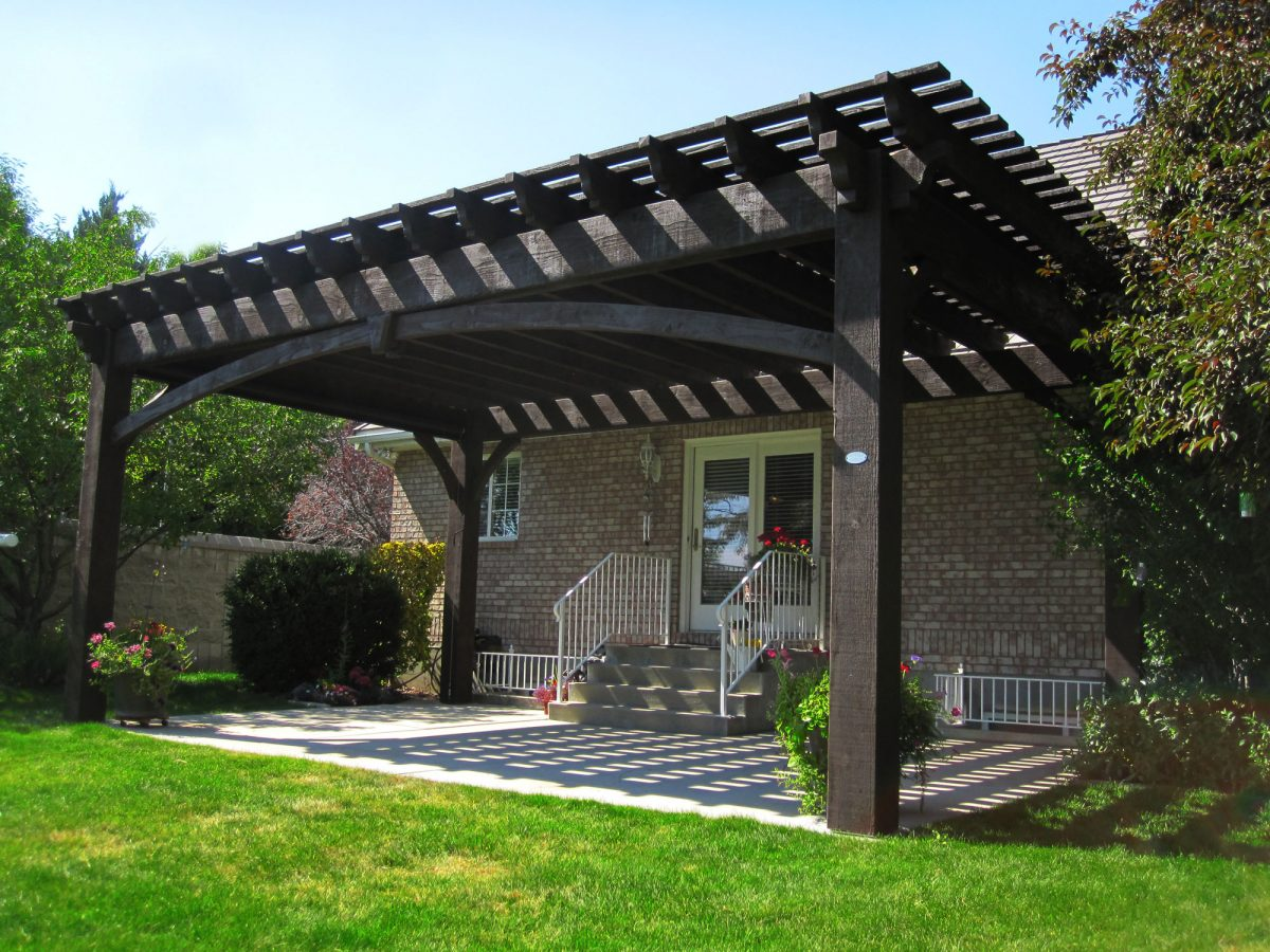 20 winning pavilions pergolas gazebos arbors awnings western timber frame. Black Bedroom Furniture Sets. Home Design Ideas
