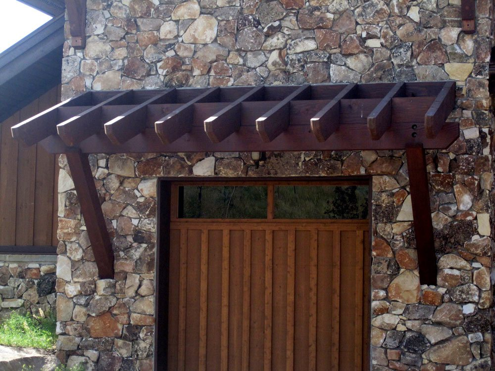 DIY Timber Frame Attached Pergola Kits & Timber Frame ...