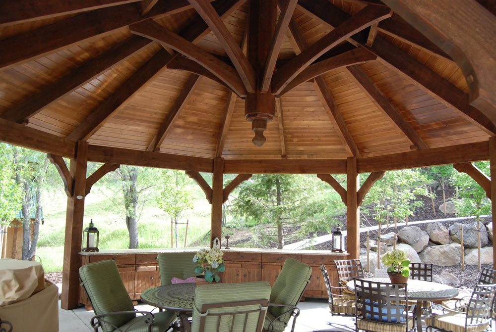 timber frame gazebo kit