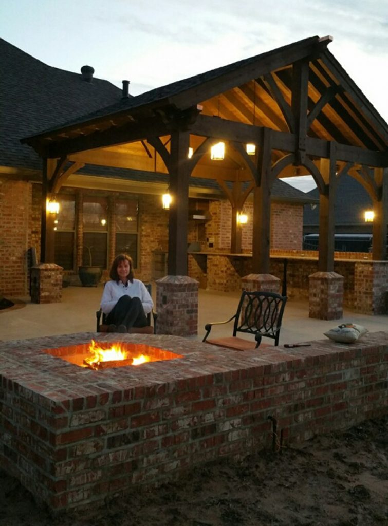 55 Best Backyard Retreats With Fire Pits Chimineas Pots amp Bowls Western Timber Frame