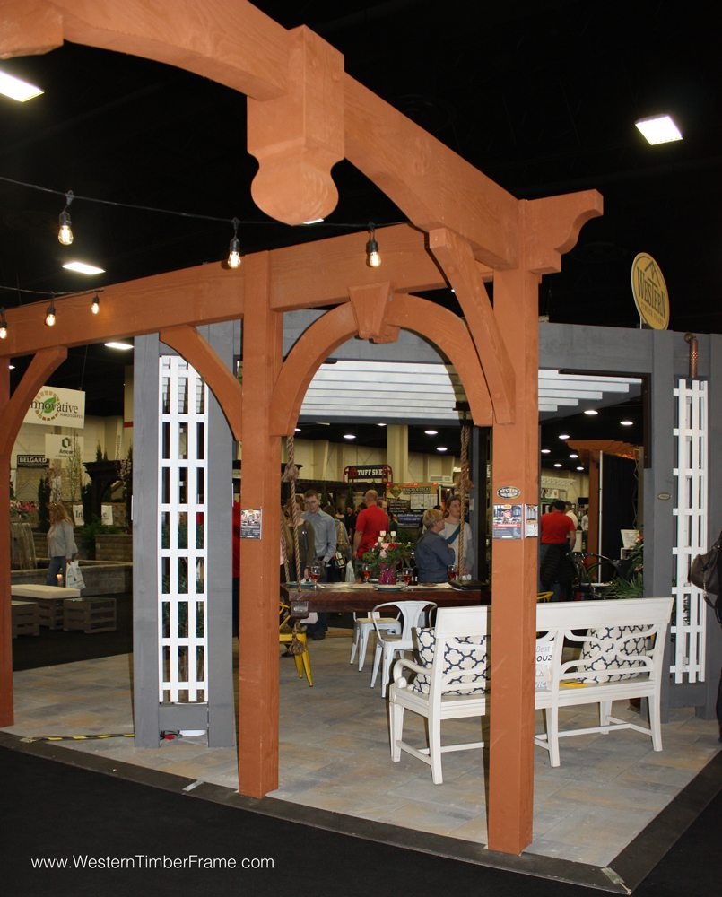 Best of show 2015 home garden show western timber frame for Western pool show 2015