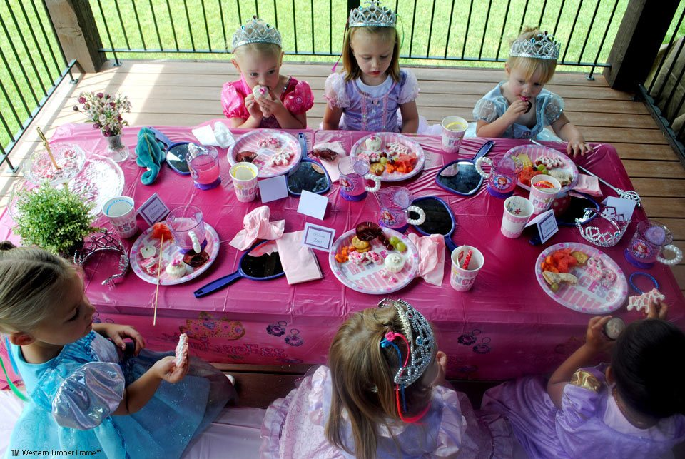 princess party outdoor picnic