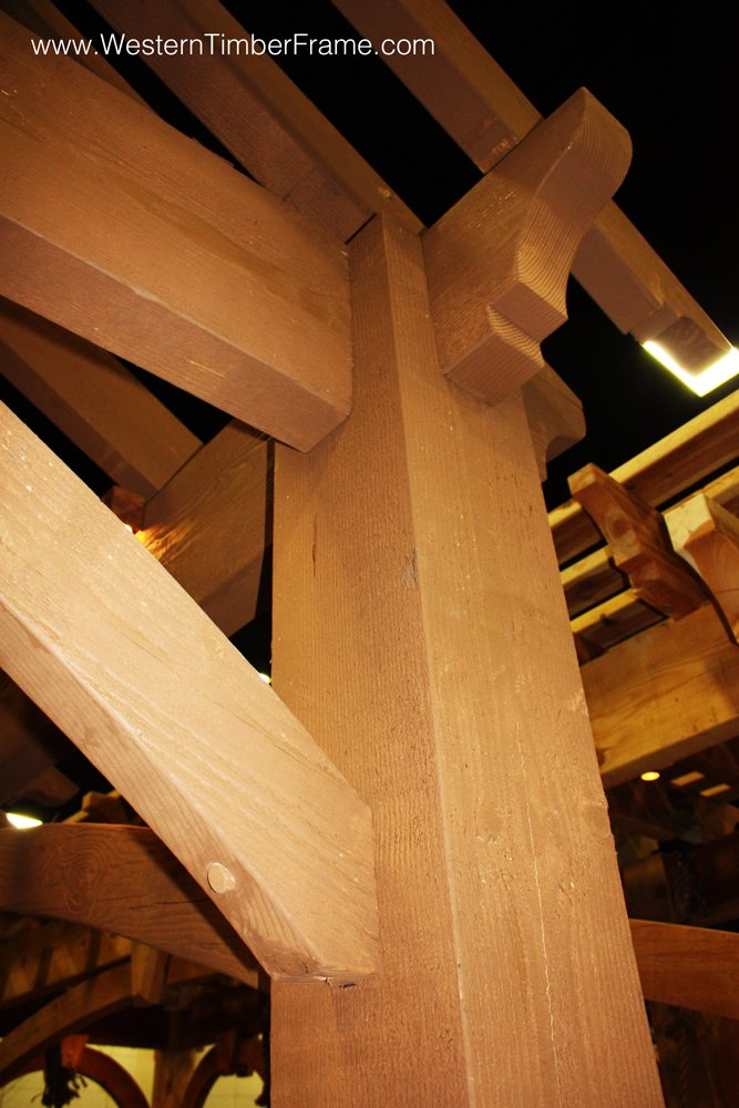 timber frame dovetail difference joinery