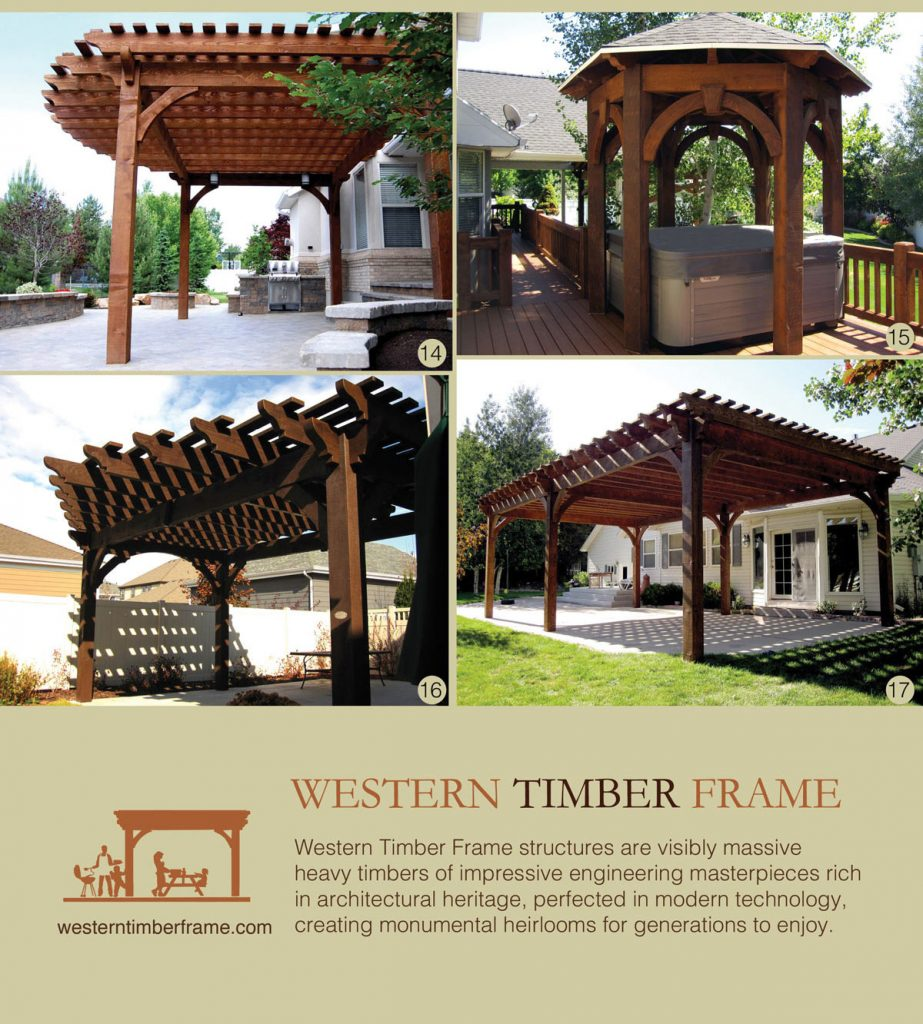 Timber Outdoor Living: 17 Early American Outdoor Shade Structures: Pergolas
