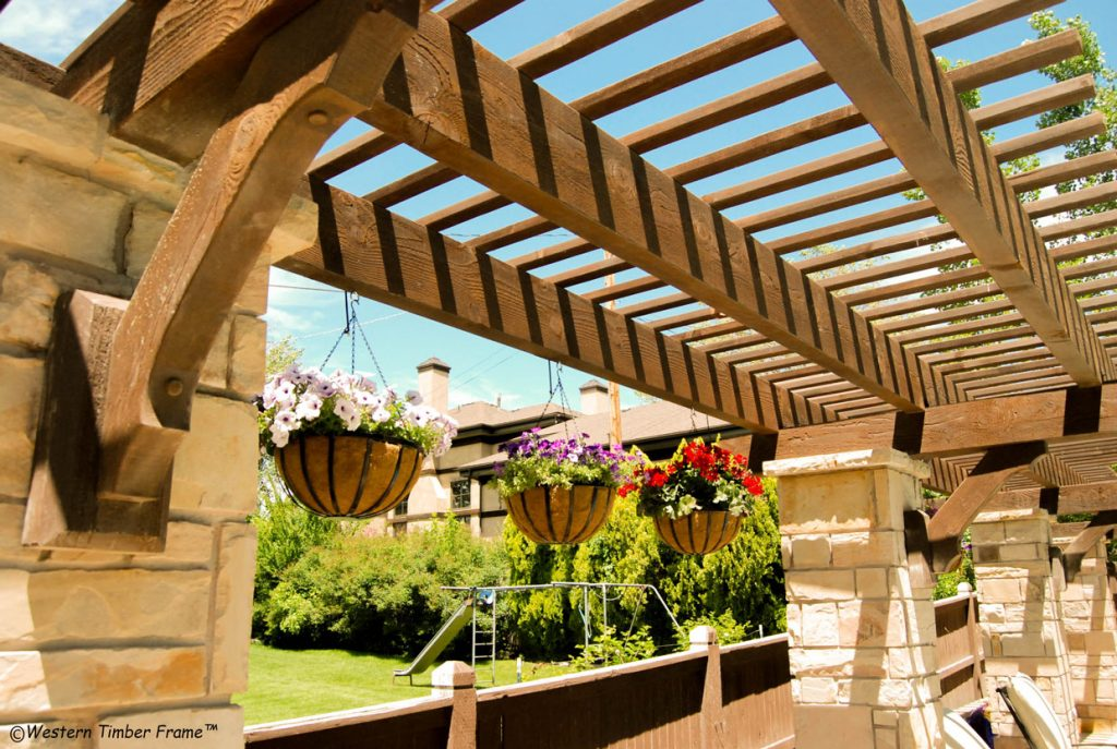 11 Charming Trellises Define Space Add Beauty Privacy Western Timber Frame