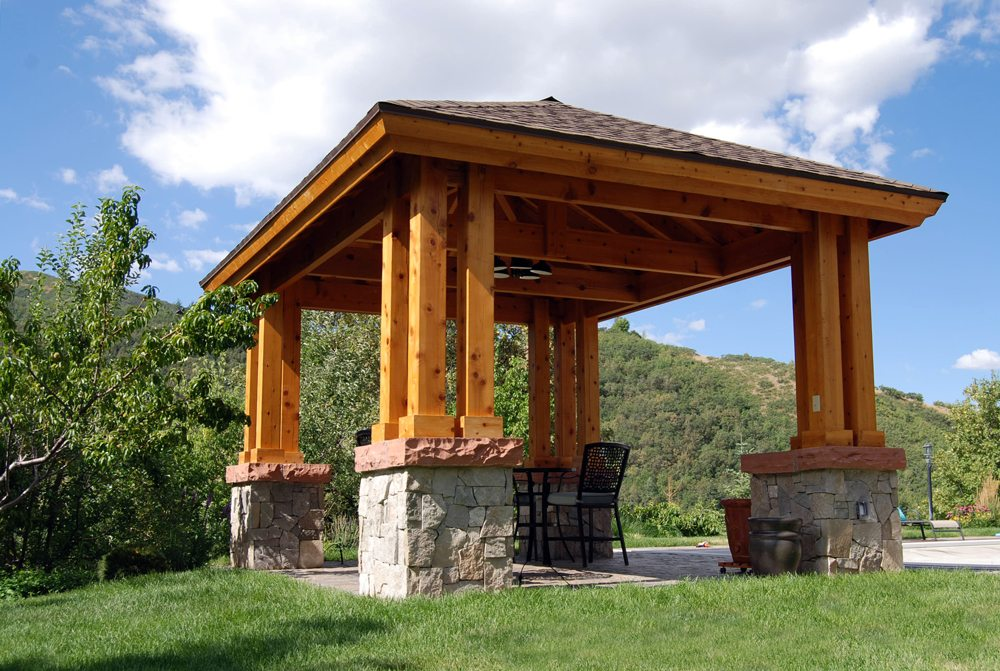 16 Naturally Charming Pavilions Amp Pergolas Western