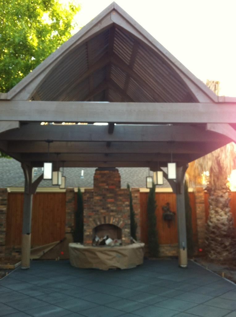 Texas Unique Plan For Cedar Diy Timber Frame Pavilion Kit