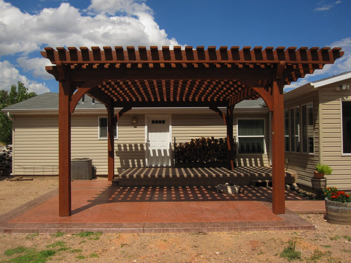 2 DIY Arbors, Awnings, Decks, Pavilions, Pergolas & Bridge ...